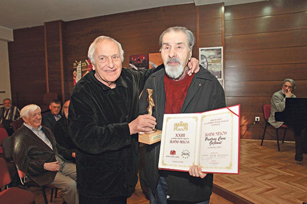 Nagrada za životno delo... Cune Gojković