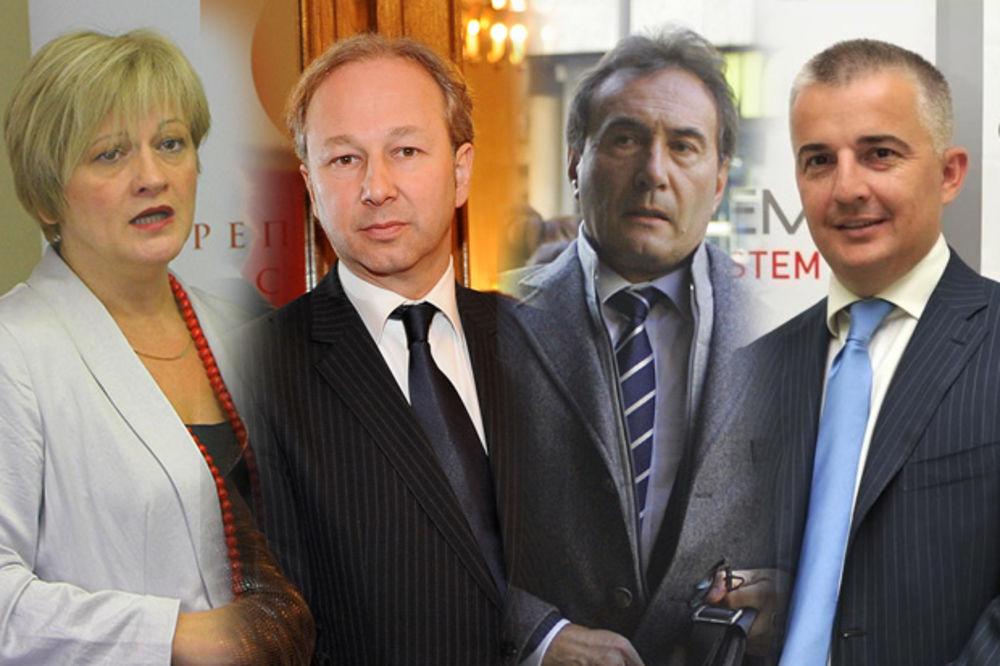 Zorana Marković, Slobodan Milosavljević, Zoran Šćepaović, Željko Žunić foto Fone