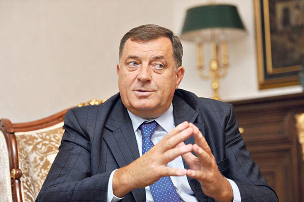 Dodik: Nikad bolji odnosi Republike Srpske i Srbije!
