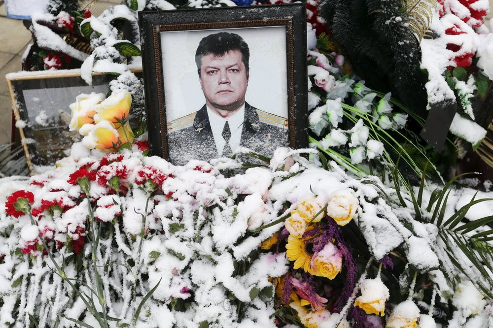 Ubijeni ruski pilot Oleg Peškov (Foto Reuters)