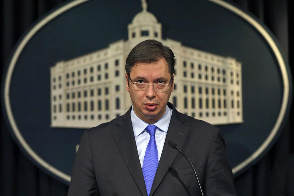 Aleksandar Vučić, Foto AP