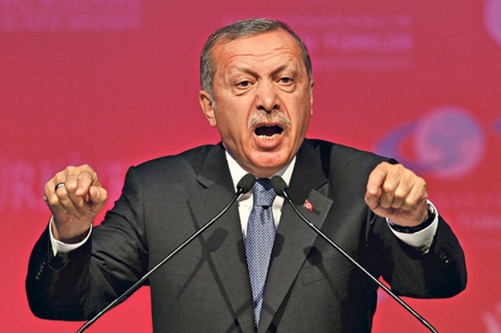 ERDOGAN: Amerika da kurdske partije proglasi teroristima