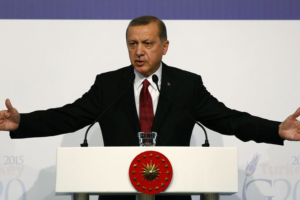 Redžep Tajip Erdogan, Foto AP