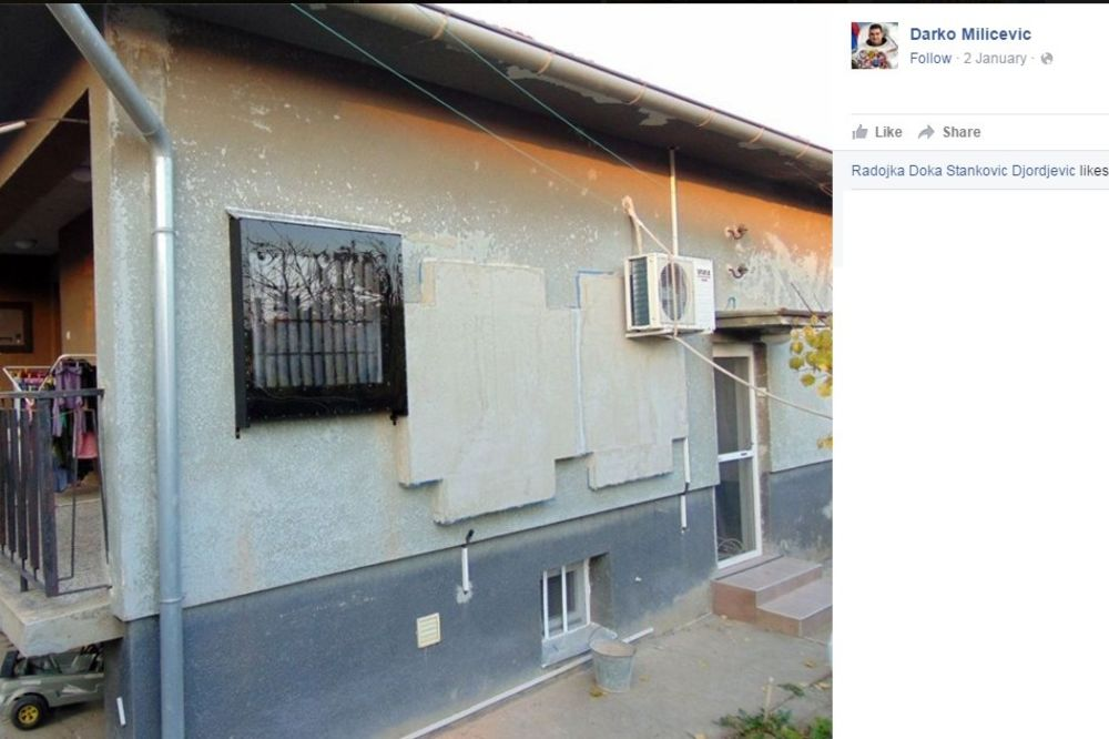 Ovako izgleda gotov solarni panel montiran na zid, Foto: Facebook