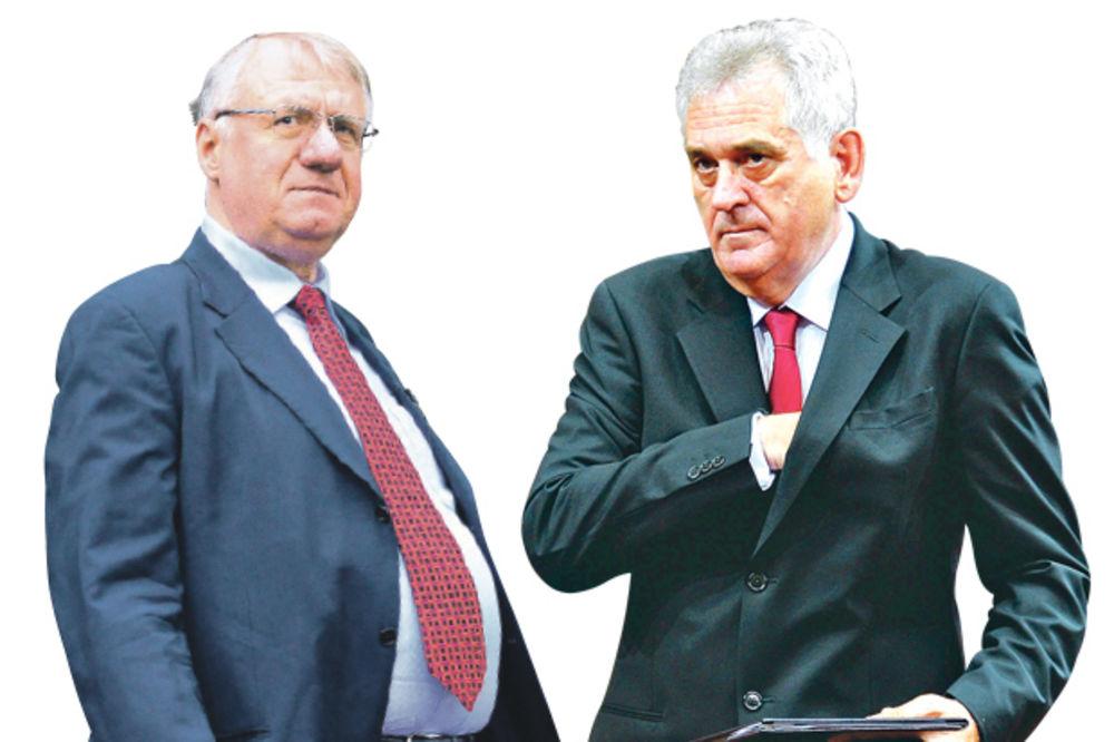 KUME, JA TI NE DOLAZIM: Šešelj odbio Nikolića, neće na konsultacije o vladi