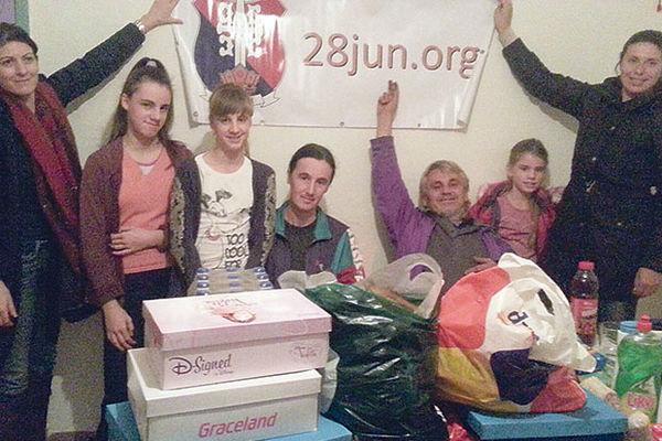 HUMANO: Srbi u Krajini tokom praznika dobili pomoć