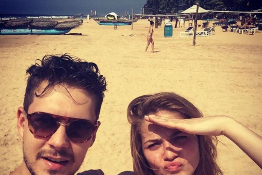Miloš Biković, Nina Janković, foto Instagram