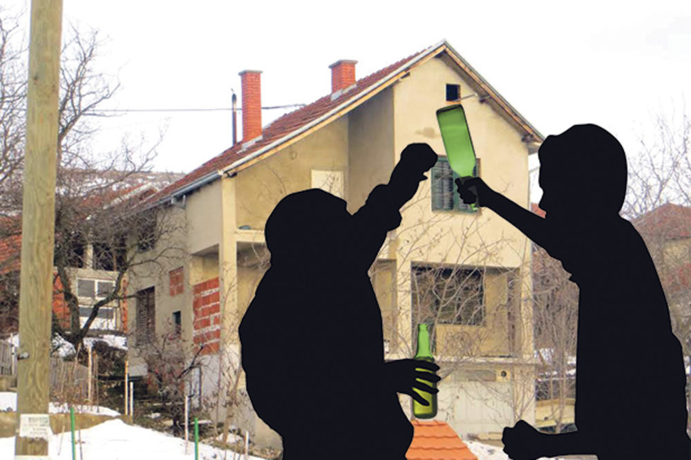 UŽASNO UBISTVO: Flašom smrskao lobanju drugu, pa zapalio kuću da sakrije zločin!