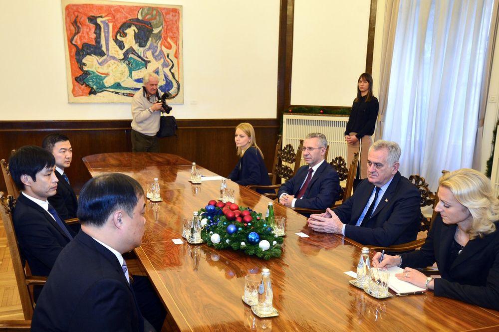NIKOLIĆ: Srbija je odlična destinacija za kineske investicije