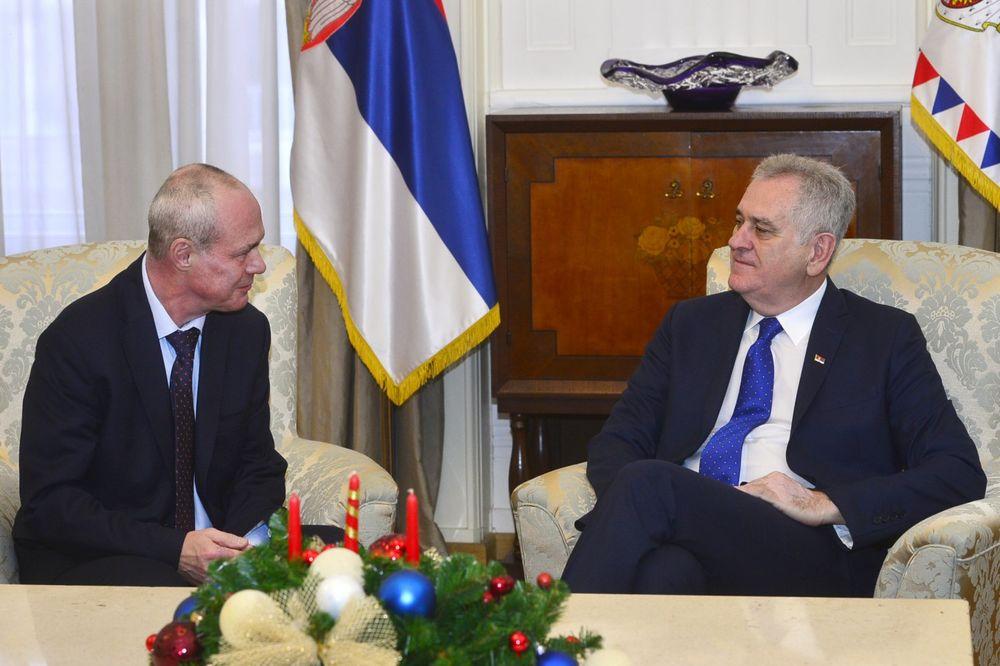 USPOMENE NA DOBRU SARADNJU: Nikolić primio ambasadora Poljske u oproštajnu posetu