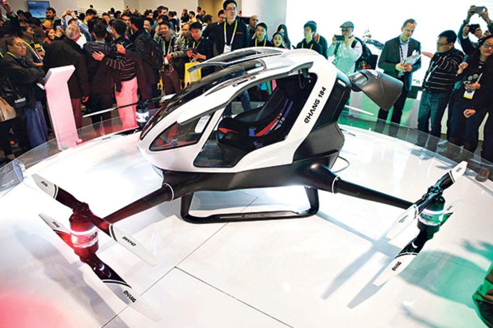 """Kineski  """"Ehang"""" konstruisao prvi putnički dron"""