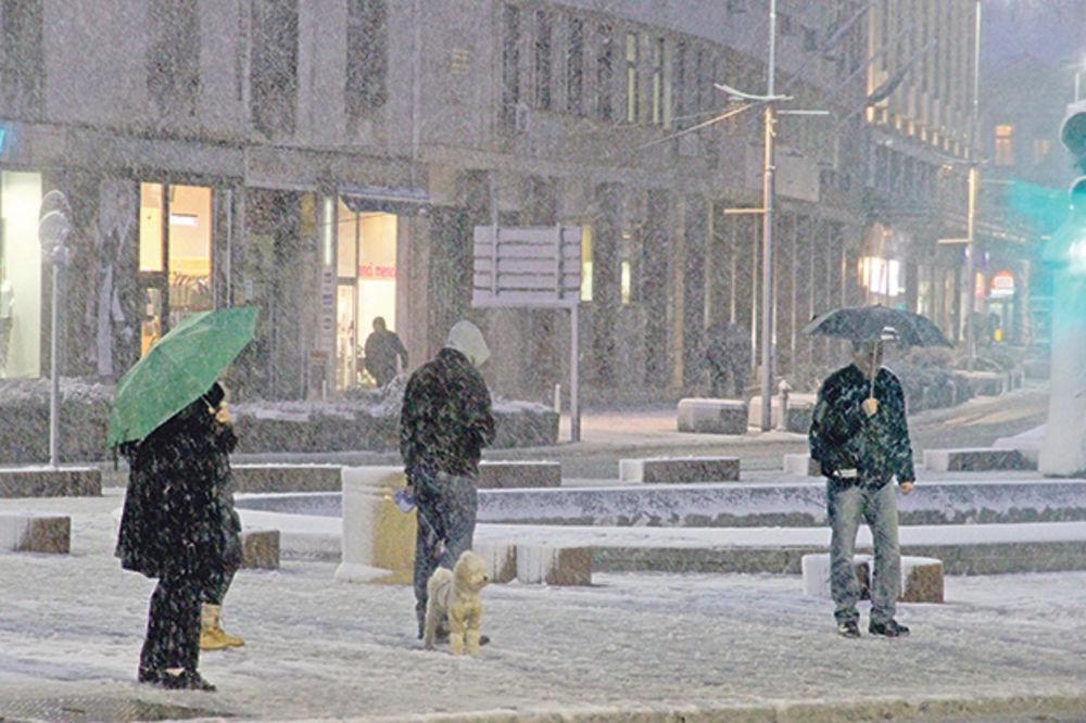 OPREZNO: U utorak 10 stepeni ispod nule