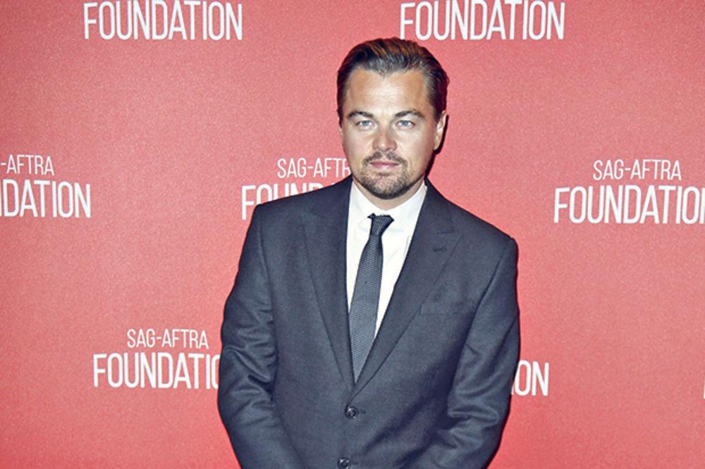 Leonardo Dikaprio, foto Reuters nov 2015