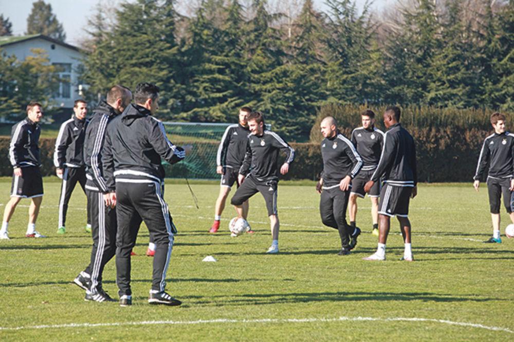 GUBITNICI UPALILI MOTORE: Partizan počeo pripreme za prolećnu sezonu