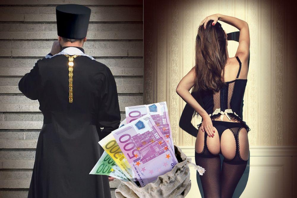 Crkva, sveštenik, makro, podvođenje, prostitucija,