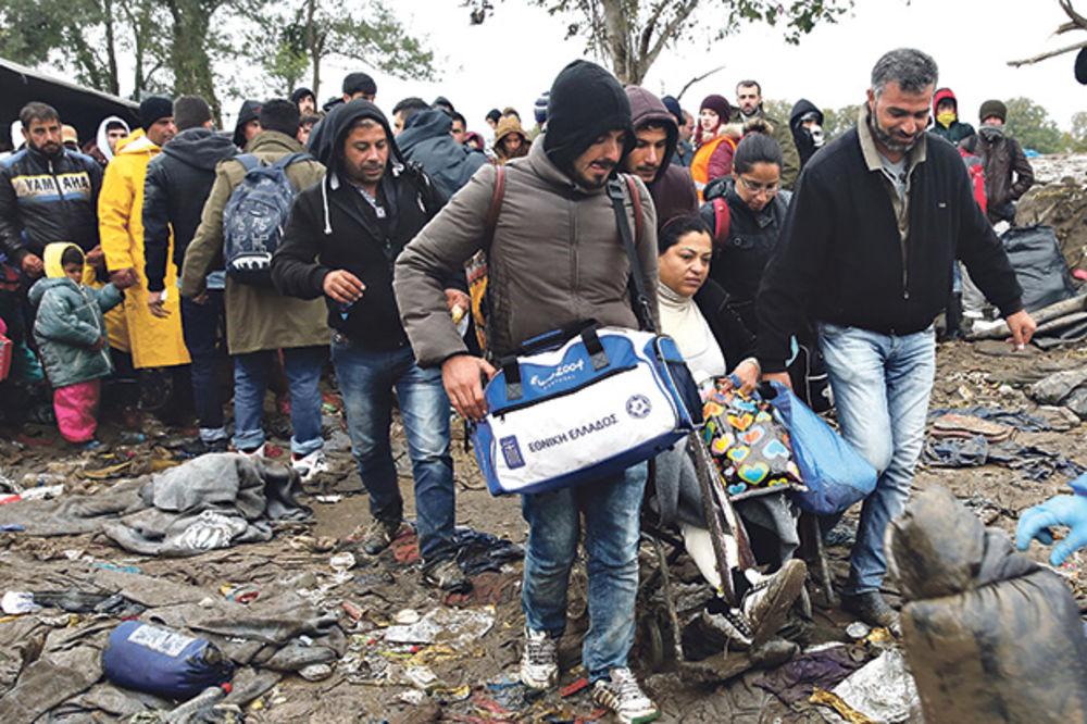 INFO CENTAR ZA AZIL APELUJE: Mnogo izbeglica spava na otvorenom u Beogradu, preti smrzavanje