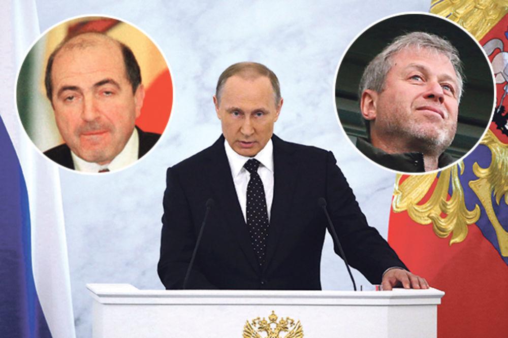 OBRAČUN: Putin uklonio Berezovskog zbog Abramoviča?