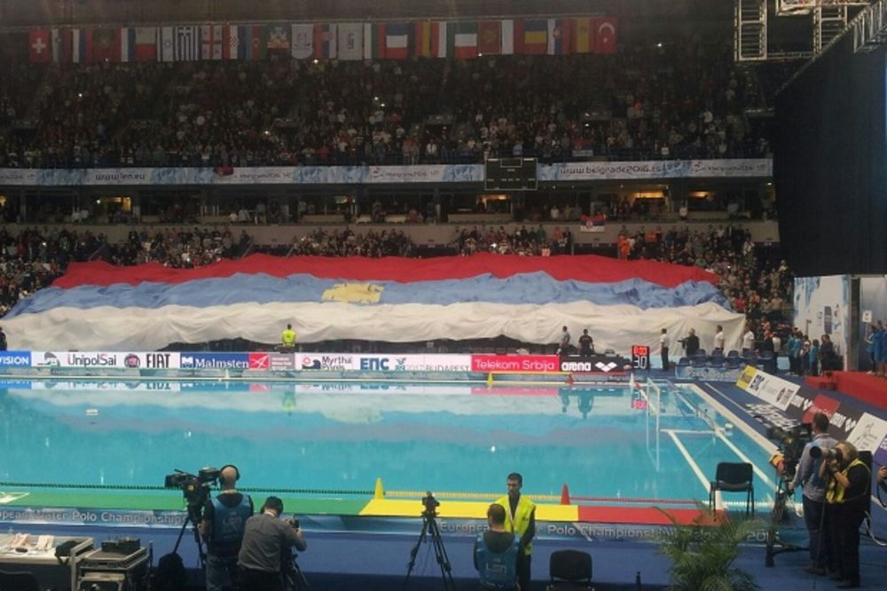 (VIDEO) ARENA SE PROŠIRUJE ZA FINALE: Srbija i Crna Gora za titulu pred rekordnih 16.000 navijača