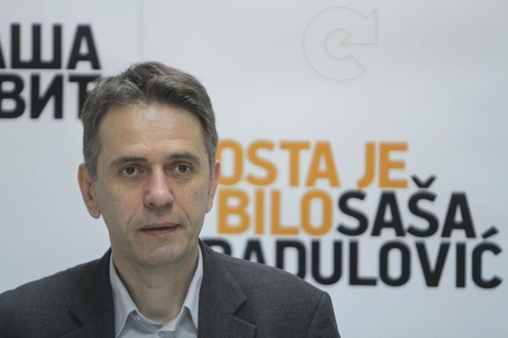 Saša Radulović, Dosta je bilo, Foto: Fonet