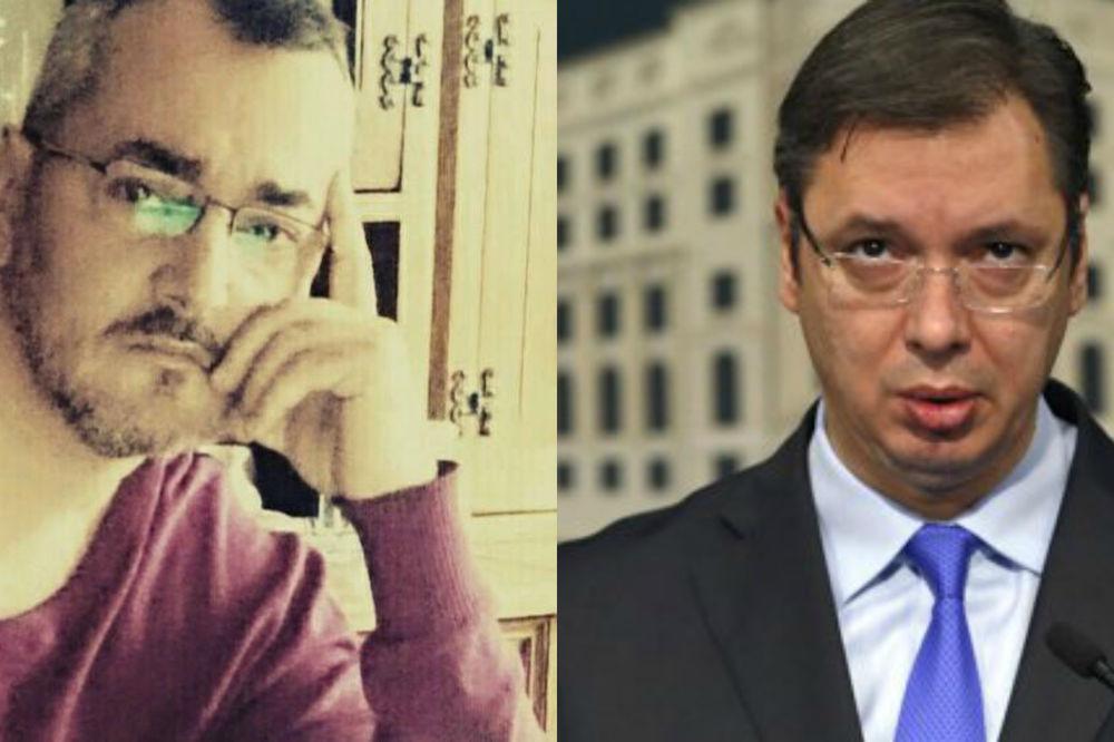 Igor D. Jakšić, Aleksandar Vučić, Foto: Facebook/AP