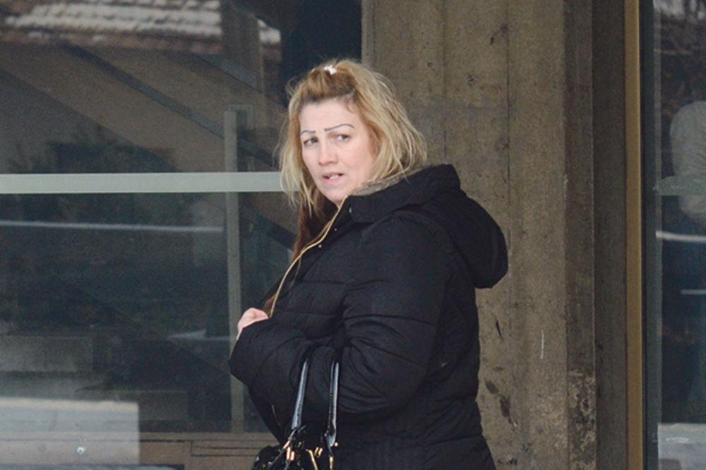 Podrška... Kristijanova sestra Aleksandra juče ispred suda