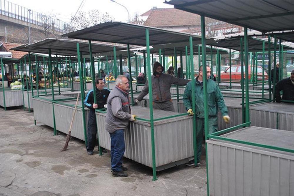 PODSTREK ZA PRIVREDNI RAZVOJ: Beogradske pijace prošle godine ponudile 1.200 novih radnih mesta