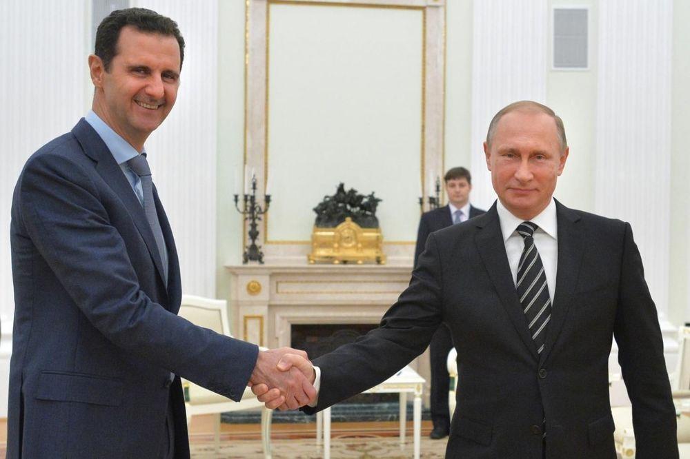 GOTOV JE: Putin neće spasiti Asada!