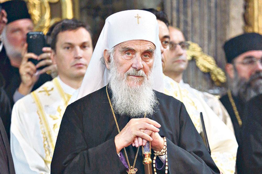 PATRIJARH IRINEJ: Najmanje je moguće da su sveće uzrok požara u srpskoj crkvi