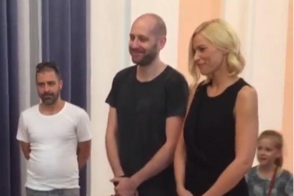 (VIDEO) DA TI SRCE STANE: Muž Kristine Bekvalac iznenadio je ćerku za rođendan, evo i kako