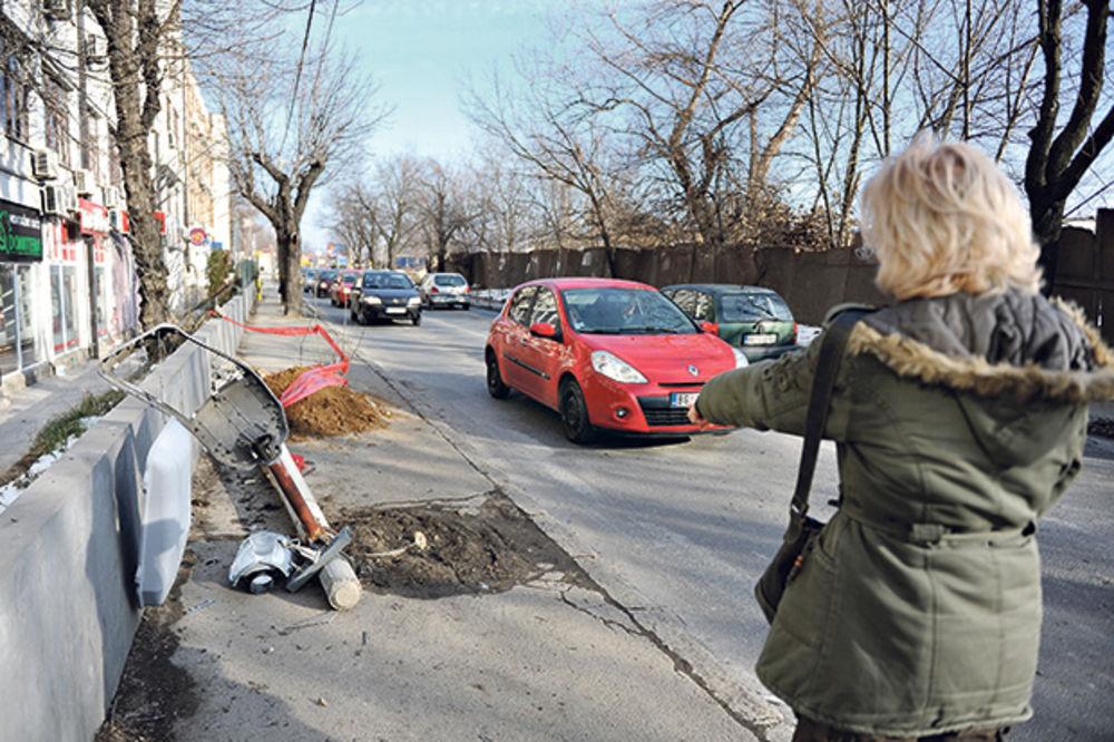 Vesna Zmijanac, saobraćajka, Voždovac, foto Zorana Jevtić