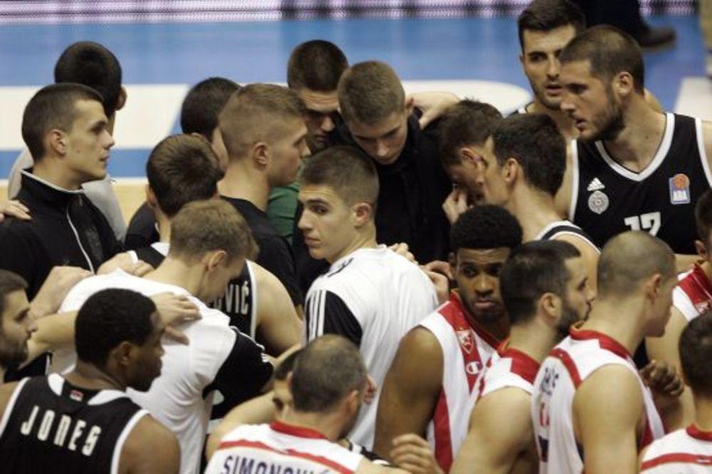 (VIDEO) CRNO-BELI PECNULI ZVEZDU: Pogledajte kako je Partizan najavio večiti derbi