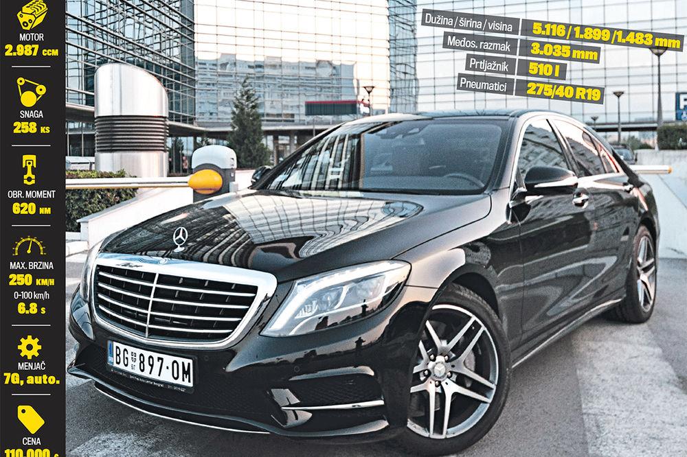 S KLASA NA TESTU KURIRA: Najskuplja Mercedesova reč!