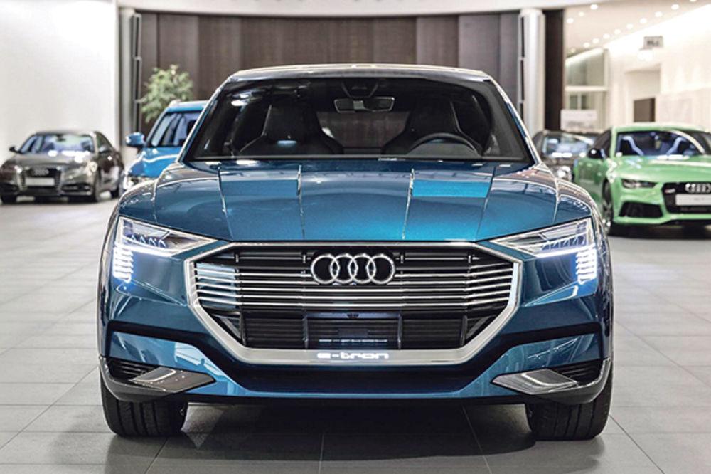 PRSTENOVI POD NAPONOM: Audi najavljuje Q6, prvi SUV na struju!