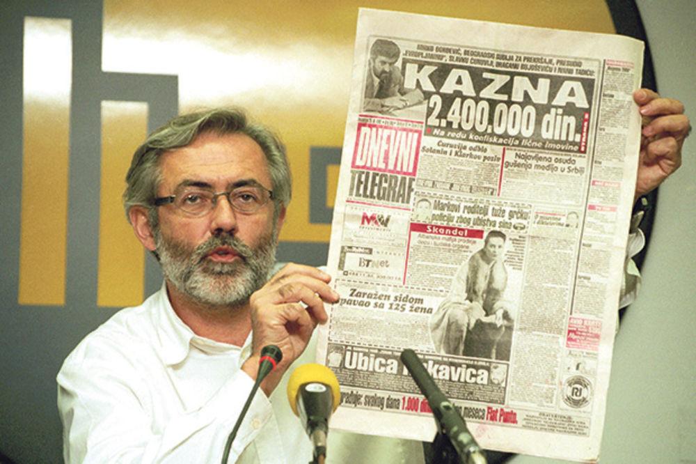 UBISTVO SLAVKA ĆURUVIJE: Radonjić naredio da se prekine pratnja