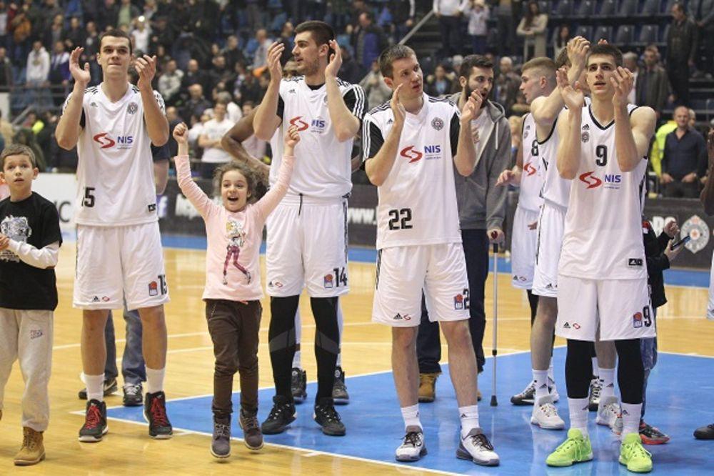 U HUMSKOJ IZGLEDA PRELOMILI: Košarkaši Partizana u FIBA Ligi šampiona?