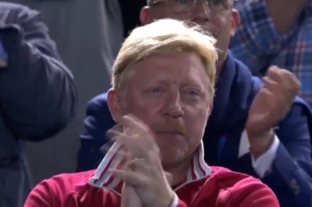 BEKER OBOŽAVA FUDBAL: Evo kako je Ajntraht oduševio Novakovog trenera