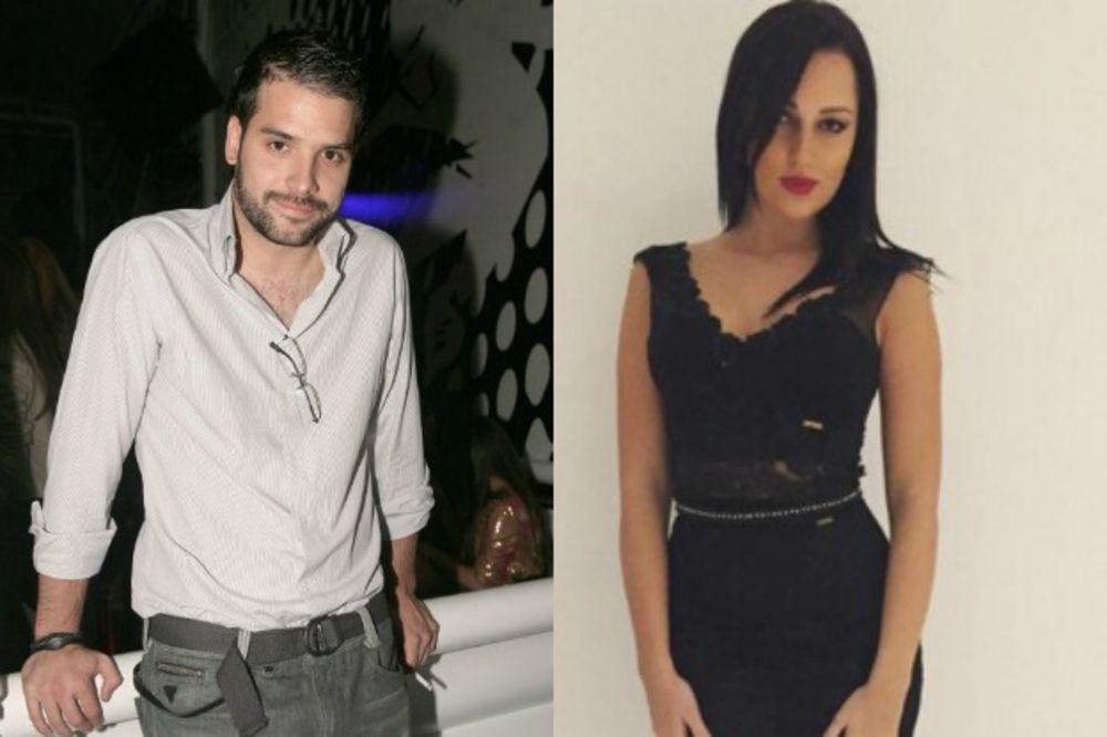 Aleksandra Prijović i Filip Živojinović, foto: Kurir, Printskrin/Instagram