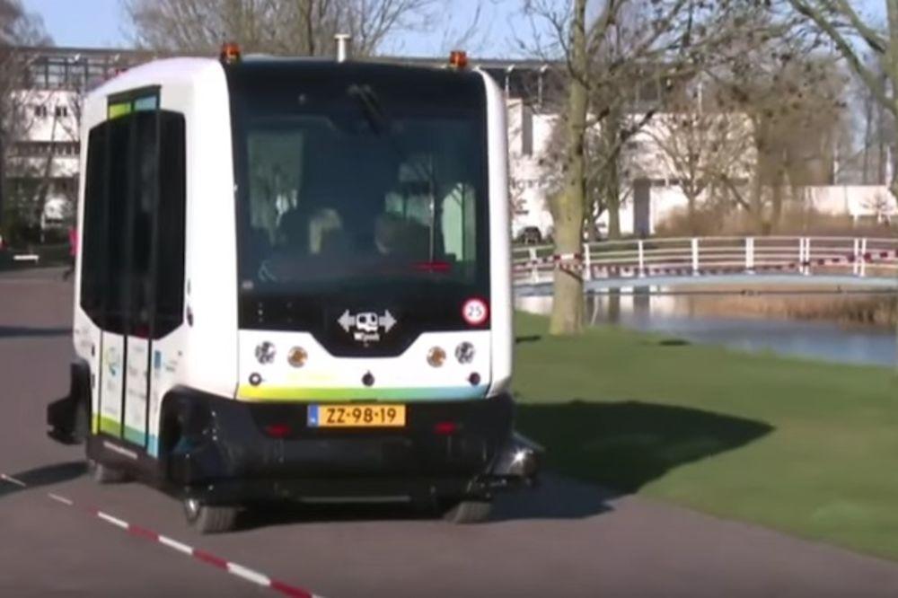 (VIDEO) OVAKAV GRADSKI PREVOZ JOŠ NISMO VIDELI: Holandija predstavila autobus kome ne treba vozač