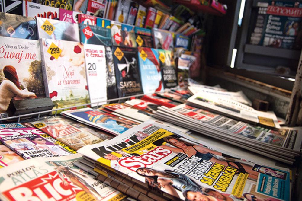 novine, mediji, štampa, kiosk, Foto Stefan Jokić, Kurir,