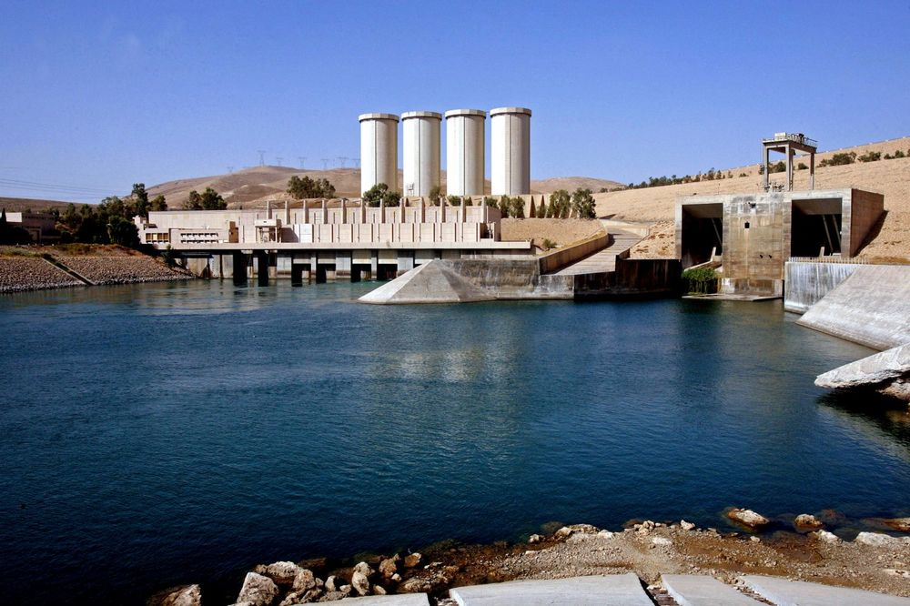Mosul, brana, 04.08.2014, Foto AP