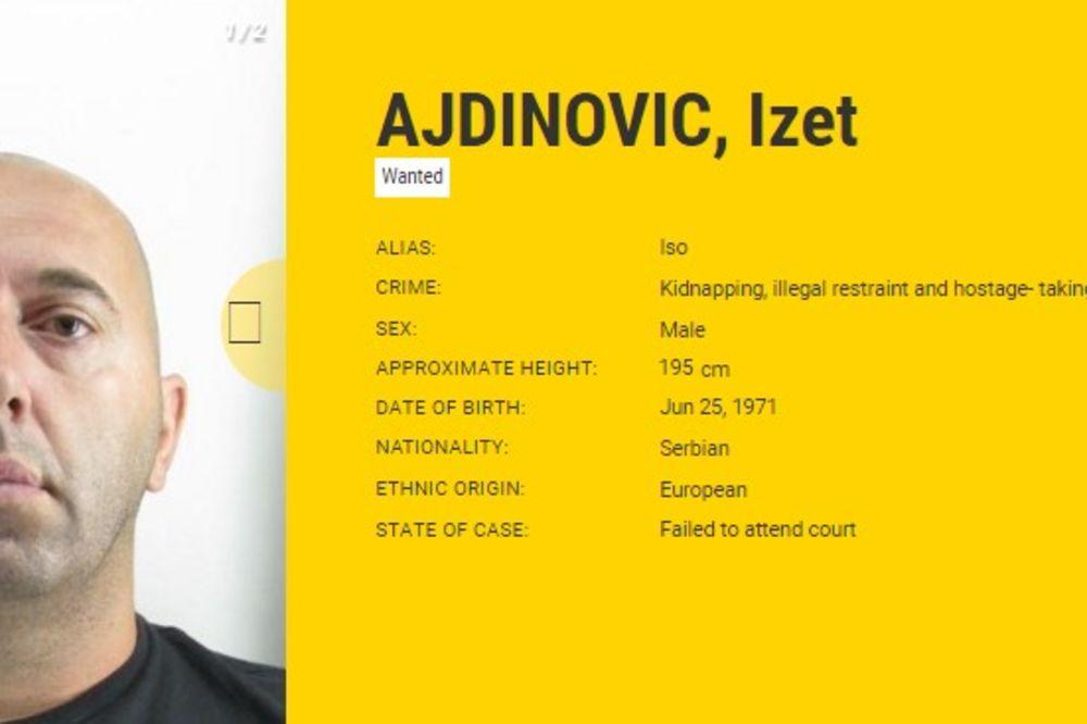 kriminalci, najtraženiji, Evropa, Izet Ajdinović Foto EUmoswanted Printscreen