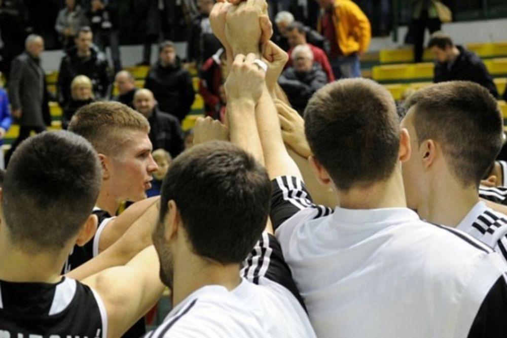 Košarkaši Partizana, Foto: KK Partizan