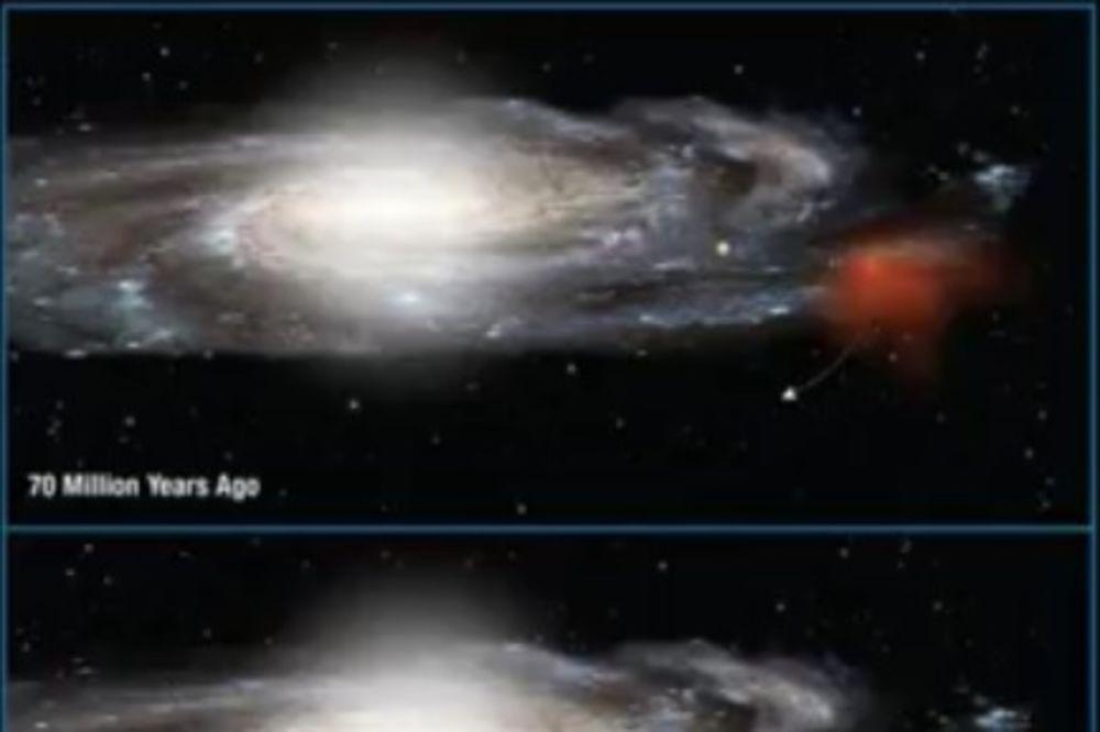 (VIDEO) OBLAK GASA JURI KA NAMA: Kreće se brzinom od milion kilometara na sat!