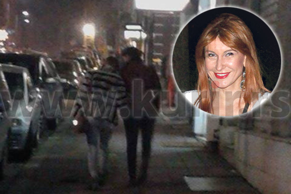 (PAPARACO) SNEKI DAKI ŠETA PILETINU: Dakićeva prošetala Beogradom u zagrljaju nepoznatog dečka