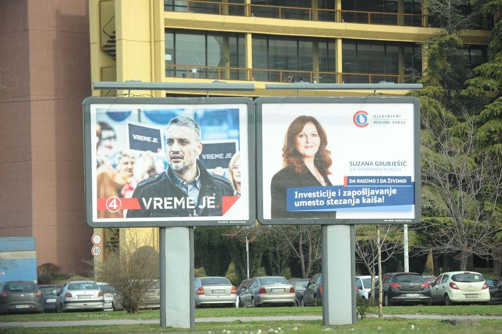 izbori, predizborna kampanja, 2013, reklama, bilbord, Foto: Zorana Jevtić