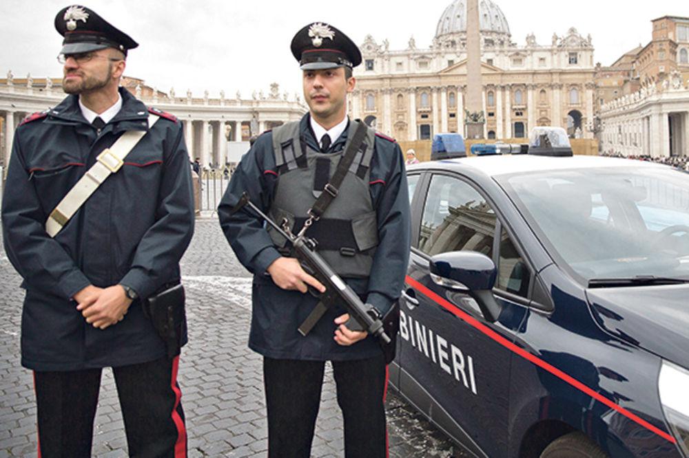 Karabinijeri, Itanijanska policija, foto Beta AP