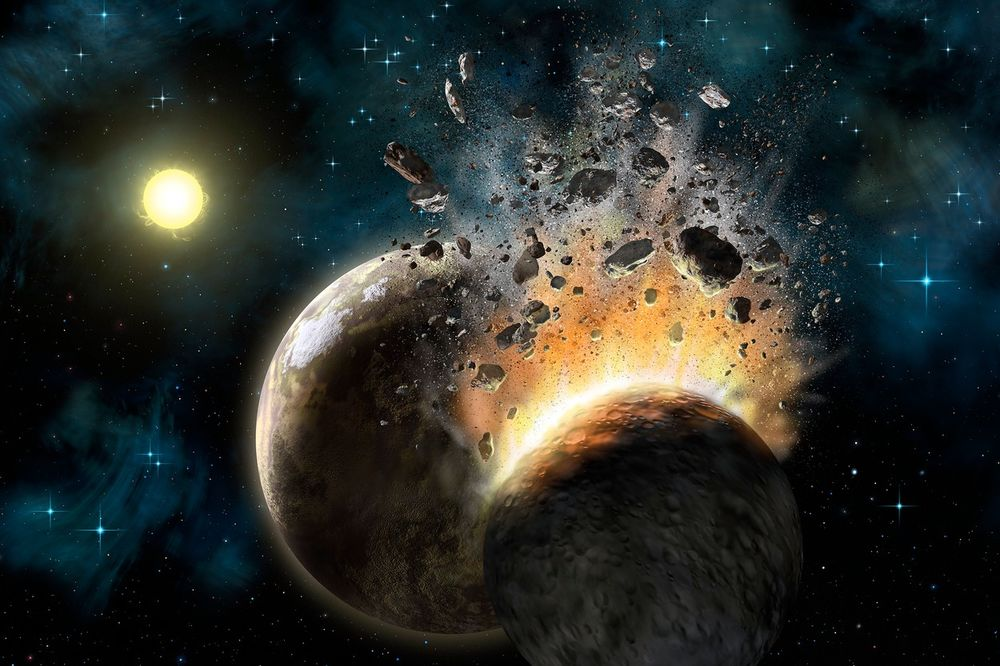 NEVEROVATNO OTKRIĆE: Zemlja i Mesec nastali sudarom dve planete