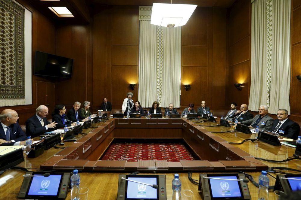 Mirovni pregovori u Ženevi, Foto: Rojters