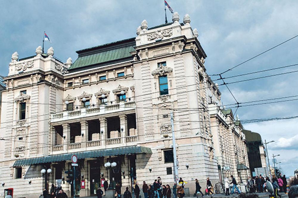 Hram kulture... Narodno pozoriše u Beogradu