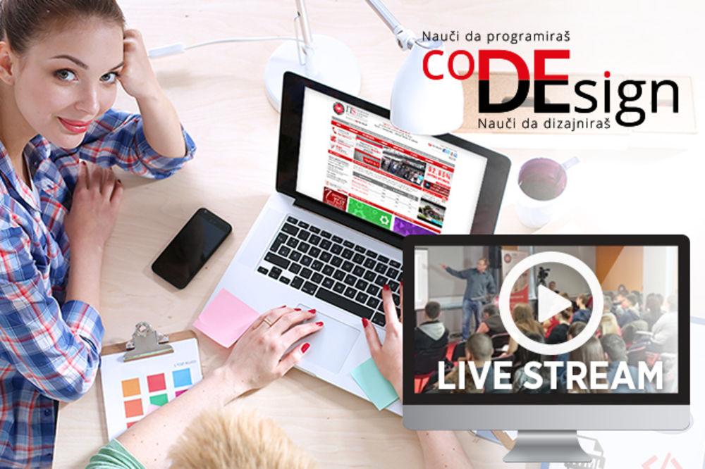 Besplatno pratite prenos Zimske škole programiranja i dizajna